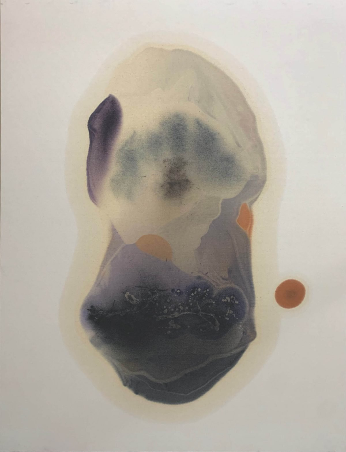 Rahul Inamdar, Untitled, oil on canvas, 78 x 60 in, 2021
